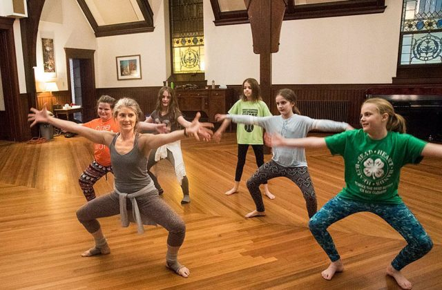 Wellness Classes in Battell Chapel Promote Mental and Physical Health