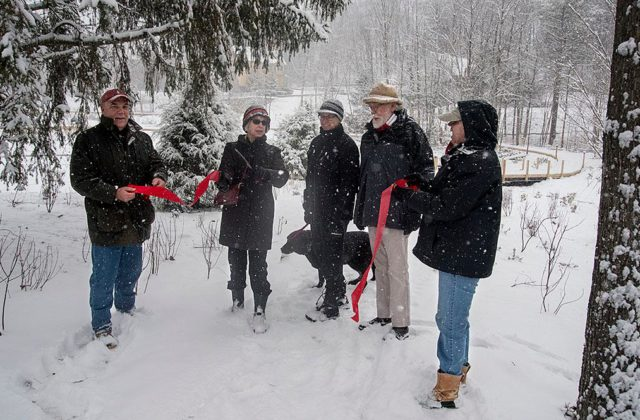 City Meadow Park Opens as First Major Snowfall Arrives