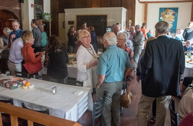 Retirement Party Honors First Selectman Dyer